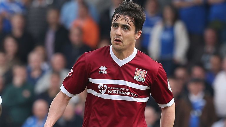 Evan Horwood: Heads back to Sixfields