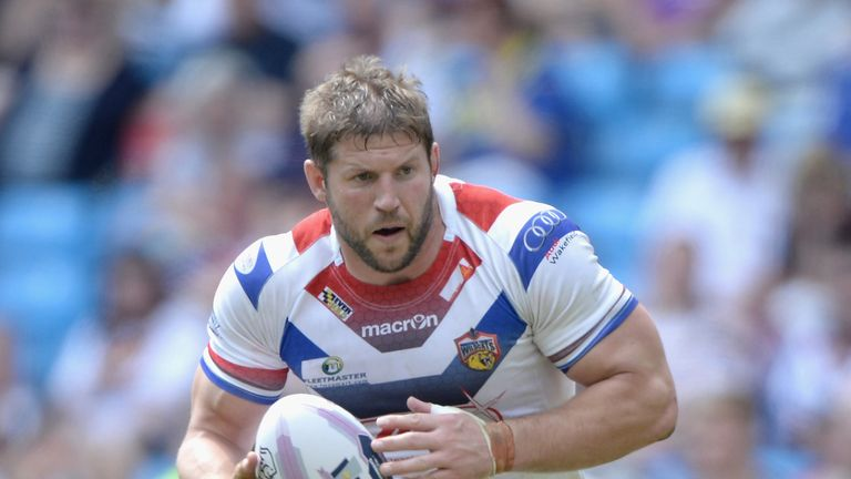 Nick Scruton: Has signed a two-year deal at Wakefield