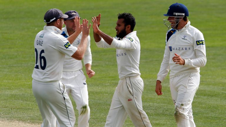 Adil Rashid: match figures of 8-194 and 159 not out