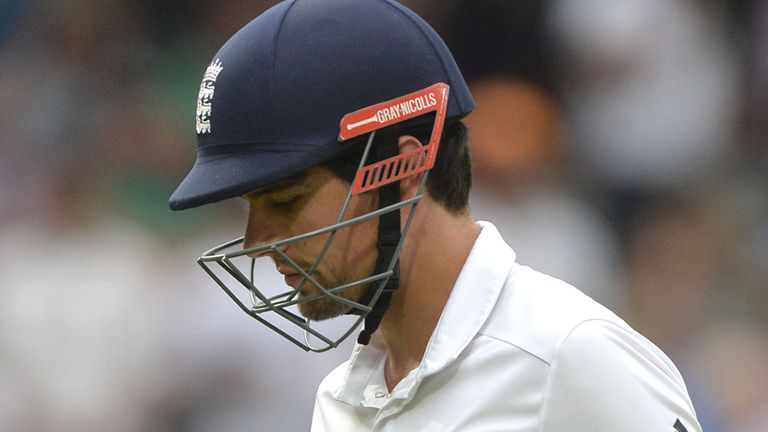 Cook's captaincy under threat?