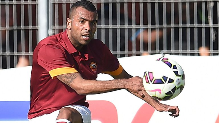 Ashley Cole: Encouraged by early signs at Roma