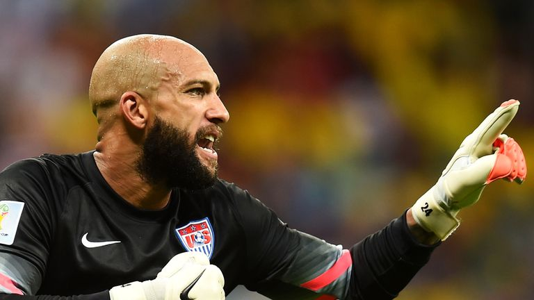 Tim Howard: Heroic display kept the USA in it, but there was nothing he could do about the goals