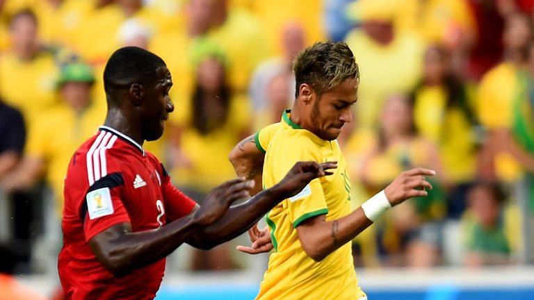 Neymar: Was a constant threat for Brazil