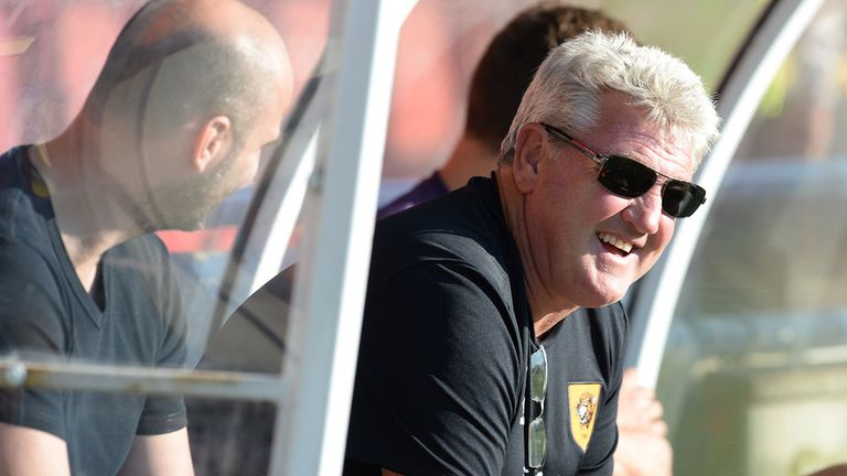 Steve Bruce: Saw Hull draw 0-0 away to AS Trencin