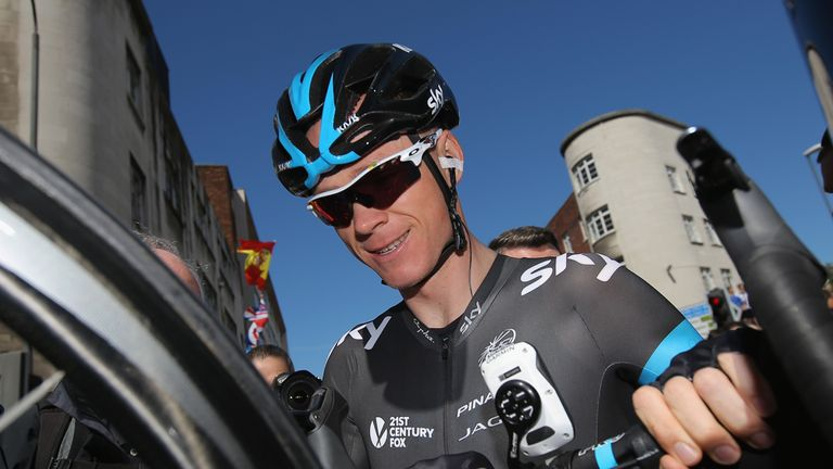 Chris Froome last race the Vuelta in 2012, finishing fourth