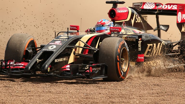 Romain Grosjean: Difficult times at Lotus