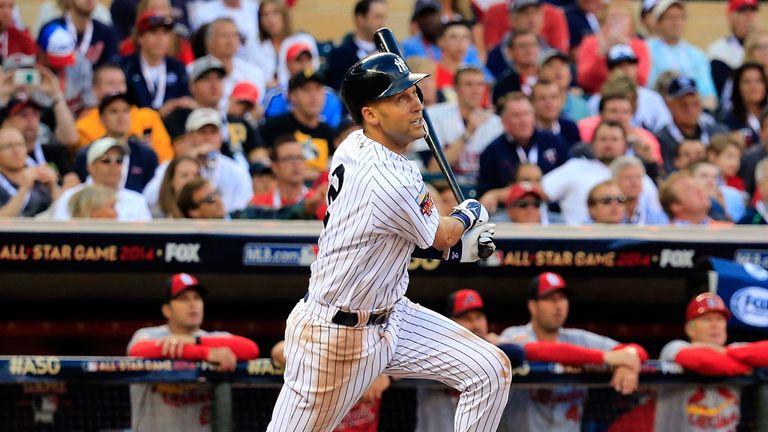 Derek Jeter: Unable to prevent the Yankees losing to the Rangers