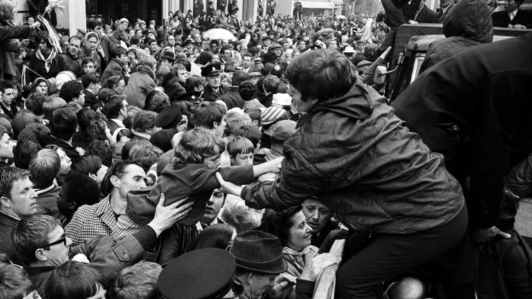 West Brom: Fans celebrate 1968 FA Cup win after beating Everton at Wembley