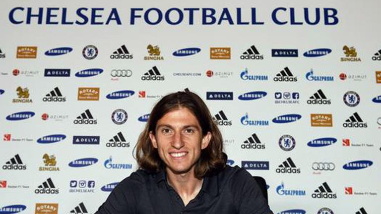 Filipe Luis: Joined Chelsea from Atletico