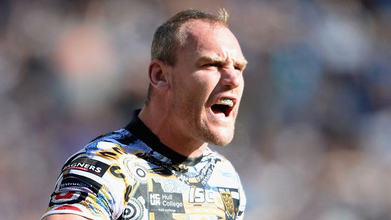 Gareth Ellis: Could extend his stay with Hull FC