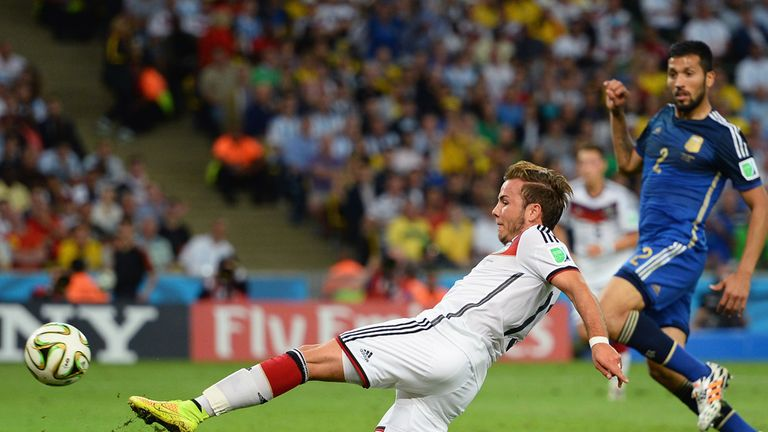 Gotze: Developing young talent, such as Mario Gotze, has been key for Germany