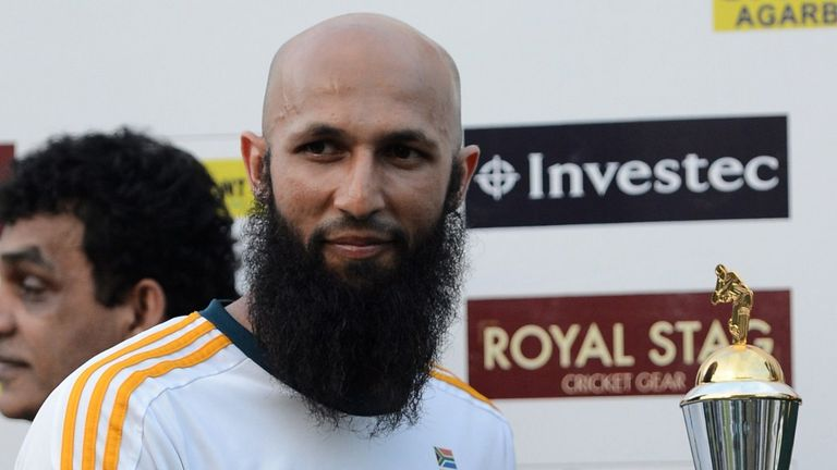 Hashim Amla: Wins his first Test series as South Africa captain
