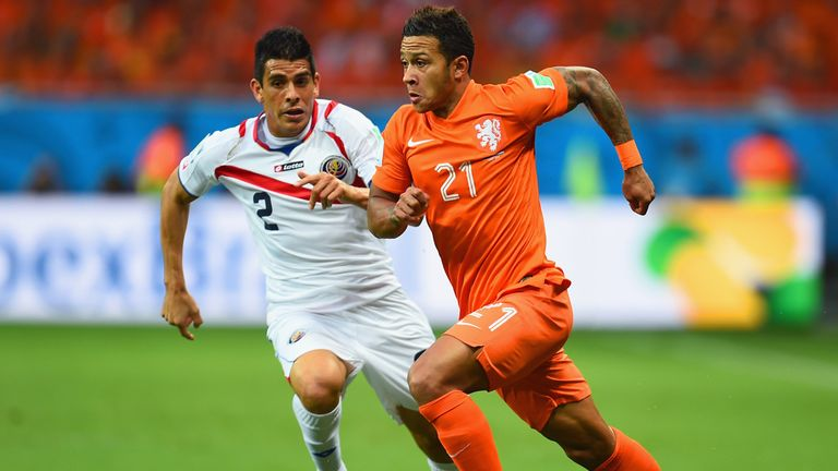 Memphis Depay: Showed his speed and skill for the Netherlands this summer