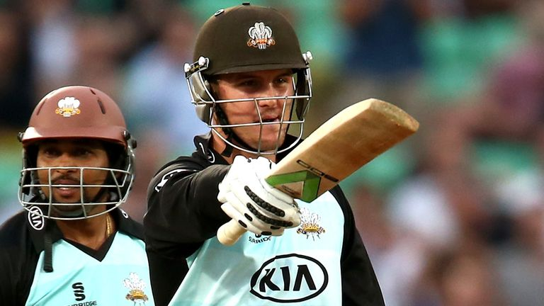 Jason Roy: Surrey batsman called up by England