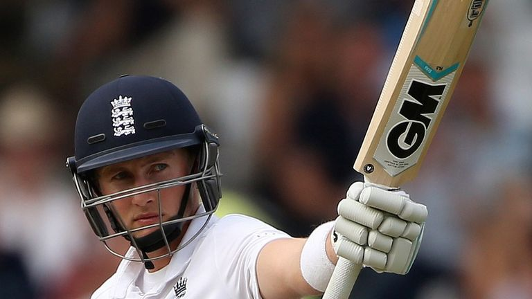 Joe Root: 78 not out at the close