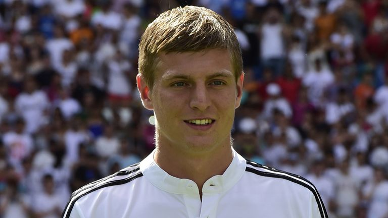 Toni Kroos: Confident of success at Real Madrid