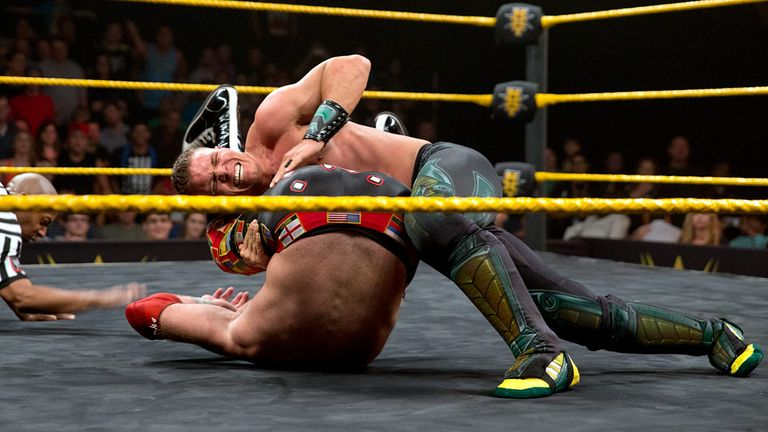Tyson Kidd recorded the three count over Sami Zayn on NXT