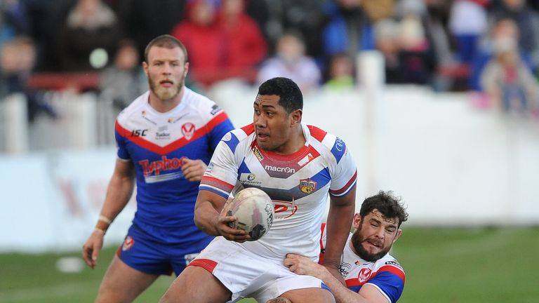 Ali Lauitiiti: Has been playing in the Super League since 2004