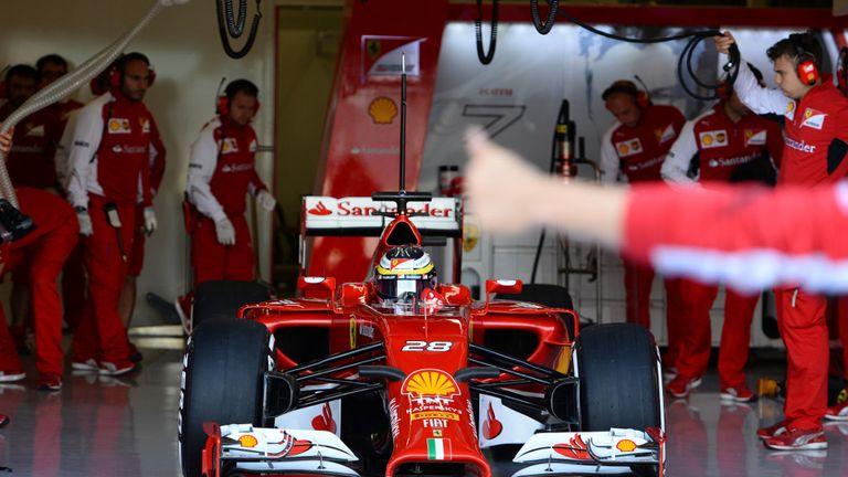 Pedro de la Rosa: Rare day in Ferrari