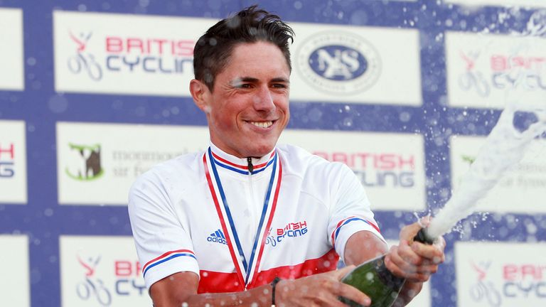 Peter Kennaugh: Took a classy win in his new jersey