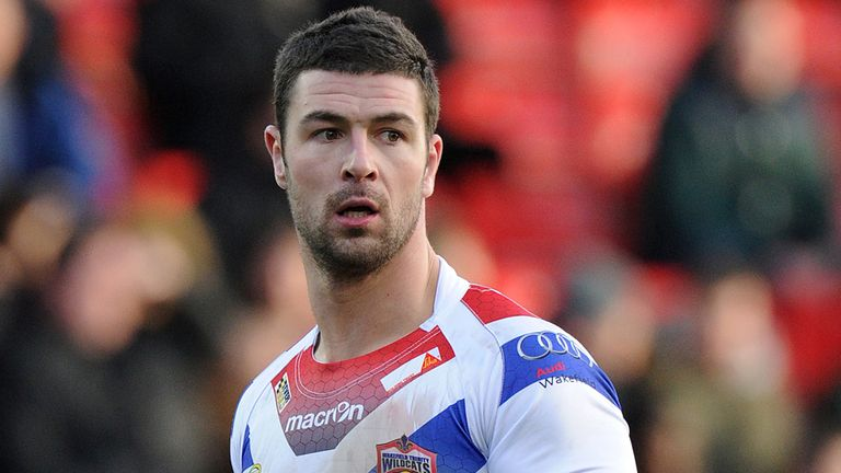 Richard Mathers: scored one and created another among Wakefield's three tries