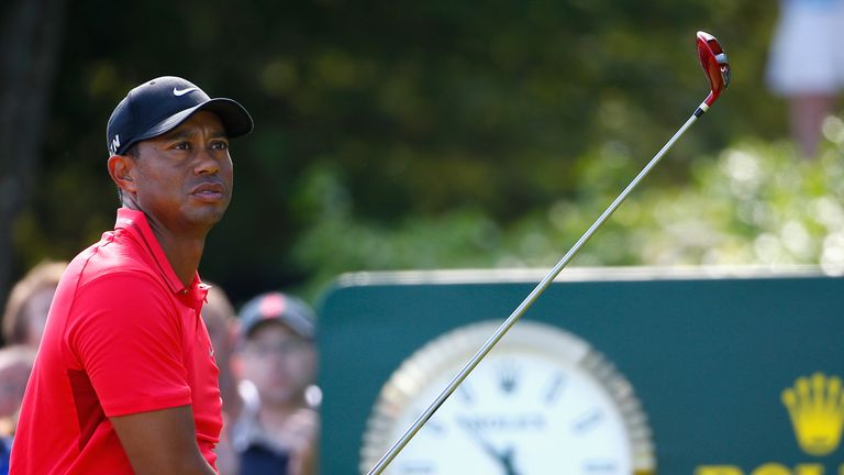 Tiger Woods: a closing 75 on Sunday