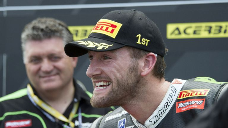Tom Sykes: Claimed victory in race two at at Laguna Seca