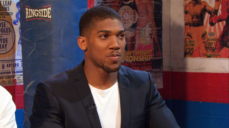 Anthony Joshua: does not want any easy fights