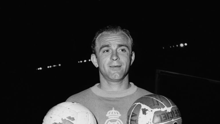 The great Alfredo Di Stefano, back in 1956.