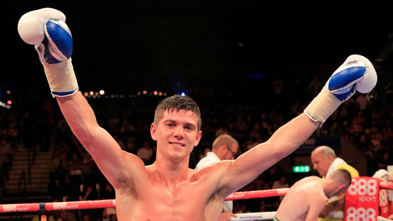 Luke Campbell is now back in action and is 6-0 so far  (© Lawrence Lustig)