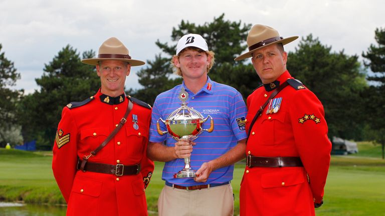 Brandt Snedeker with the Canadian Open trophy 2013