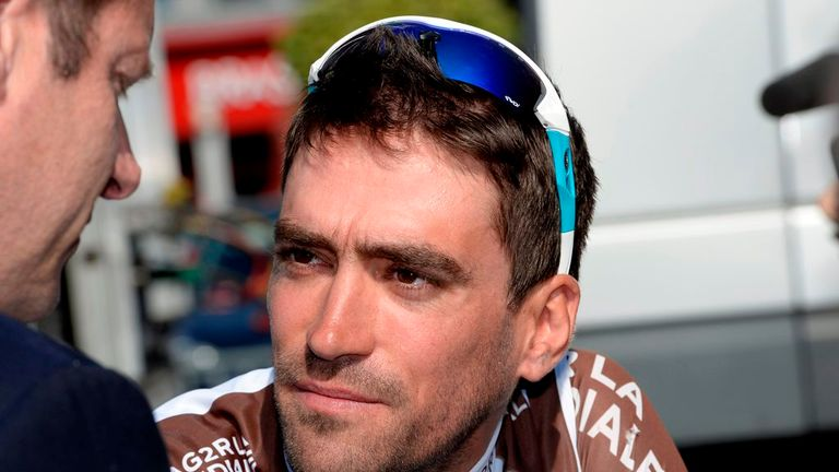 Christophe Riblon won on Alpe d'Huez in last year's Tour