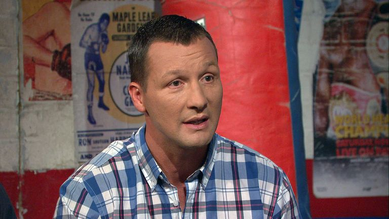 Clinton Woods: expects Kell Brook to win a world title