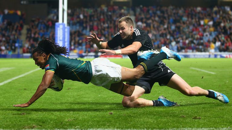 Cecil Afrika: Decisive try
