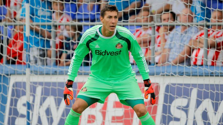 Costel Pantilimon: Looking forward to a new challenge at Sunderland