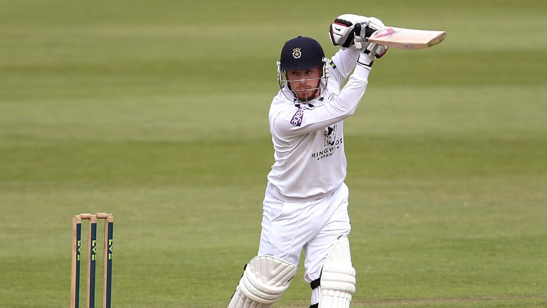 Adam Wheater: Hampshire wicketkeeper hit century against his former county Essex