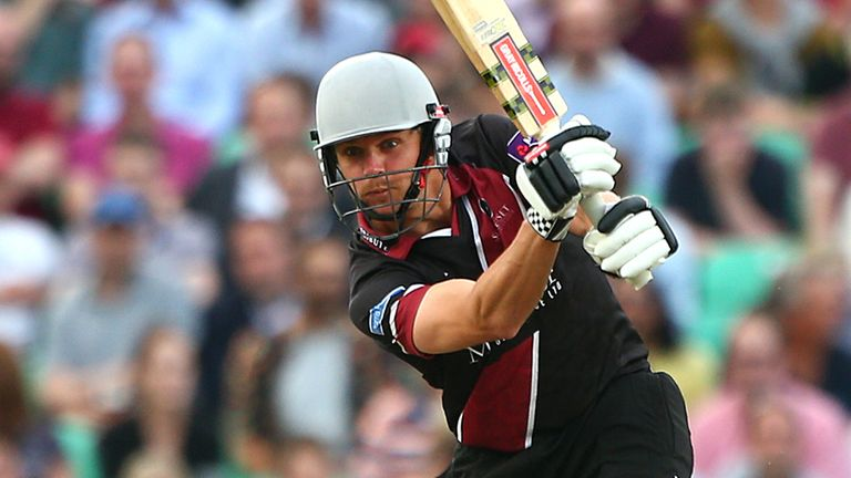 James Hildreth: Steered Somerset to glory with a superb unbeaten hundred