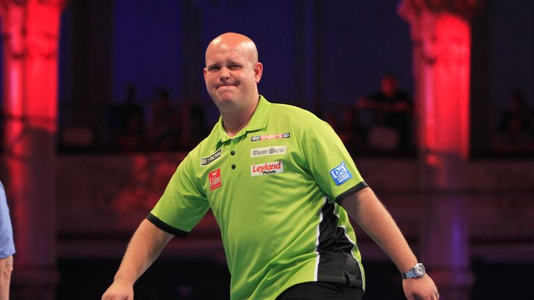 Michael van Gerwen: back from honeymoon in Bali