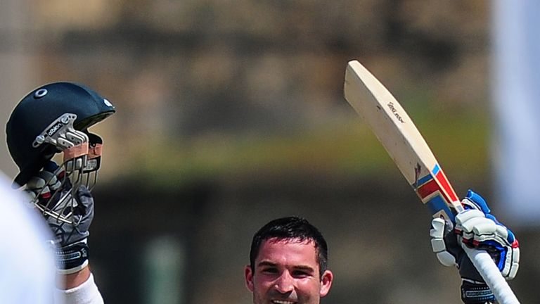 Dean Elgar: Scored century on day one of first Test against Sri Lanka