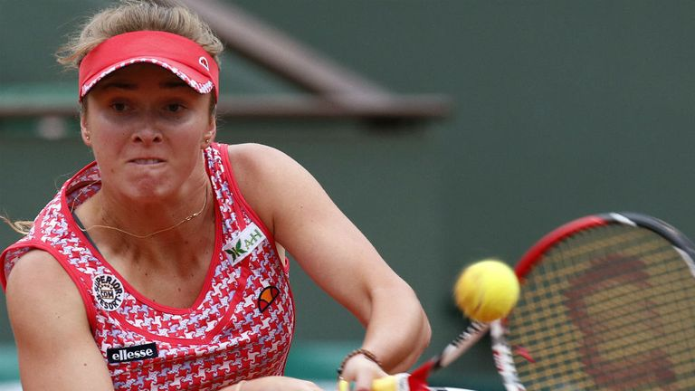Elina Svitolina: The defending champion will face Bojana Jovanovski in the final