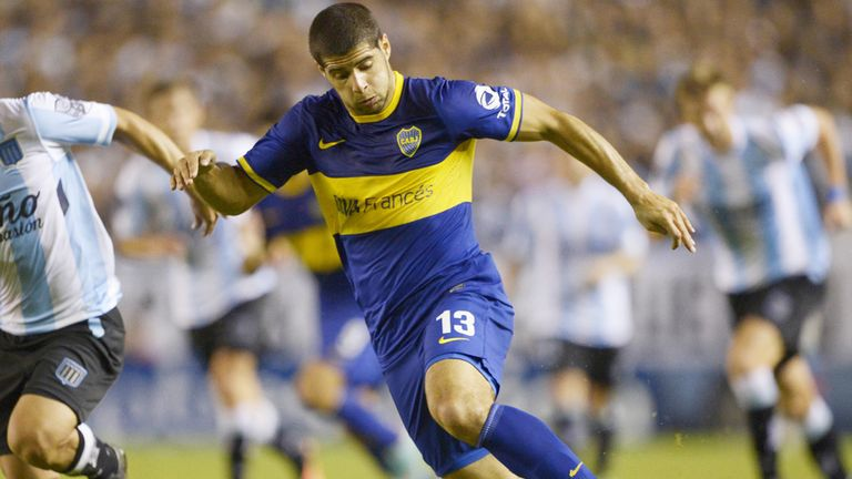 Emanuel Insua: Boca Juniors defender is reportedly a target for West Ham