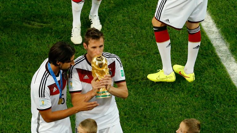 Miroslav Klose is one of Bytheway's favourite in-game substitutes
