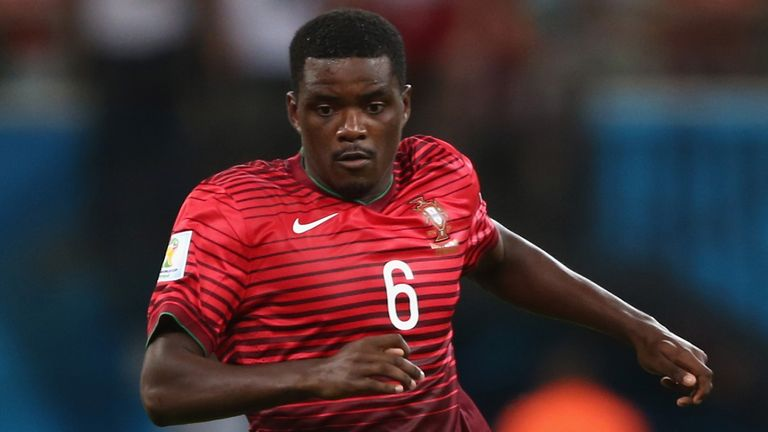 William Carvalho: In action for Portugal at the World Cup