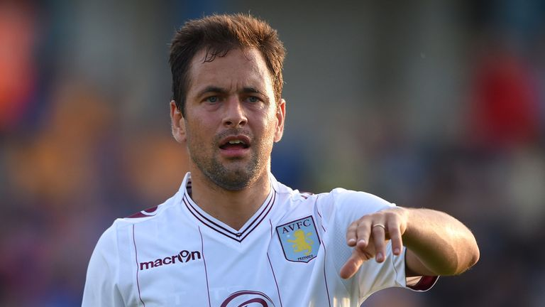 Joe Cole: Looking to kick-start his career at Villa Park