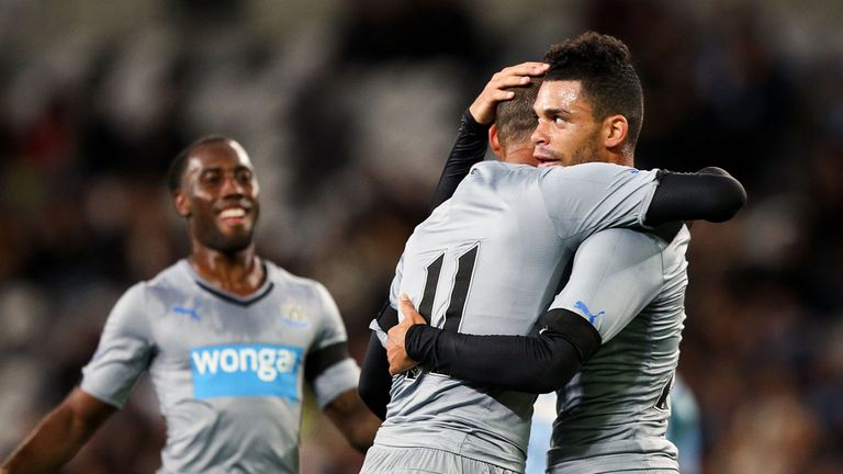 Emmanuel Riviere: Looking to make his mark at Newcastle