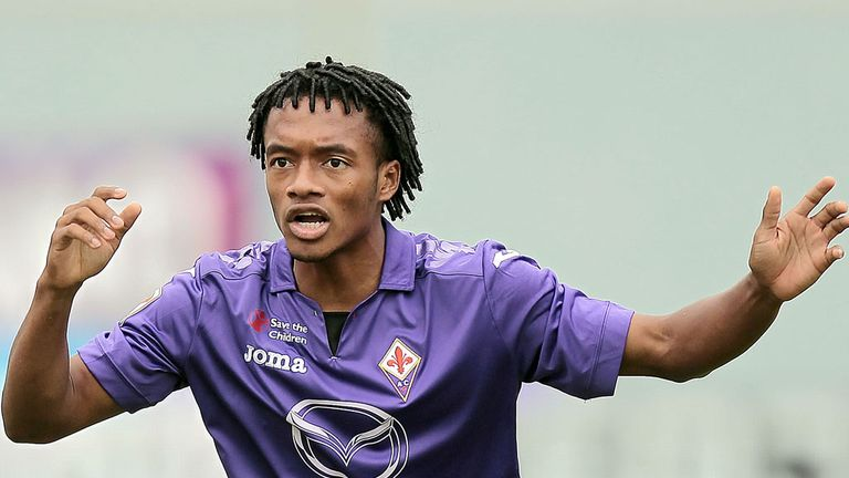 Juan Cuadrado: Will reportedly stay at Fiorentina despite interest