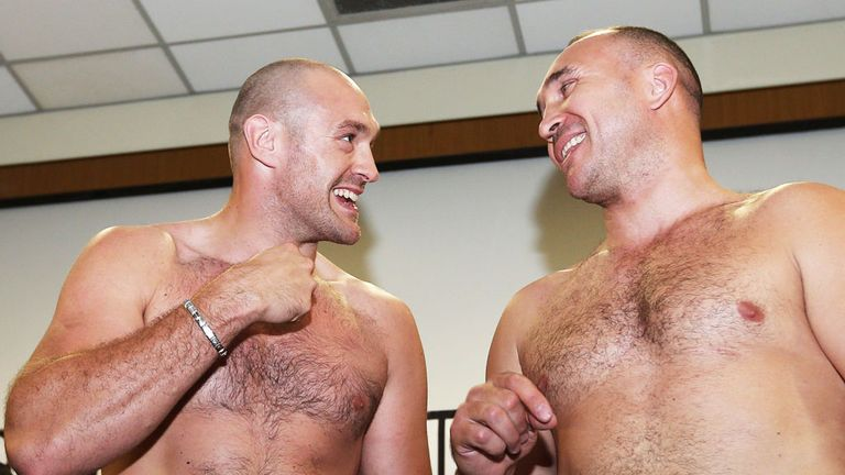 Tyson Fury: Will instead face Alexander Ustinov