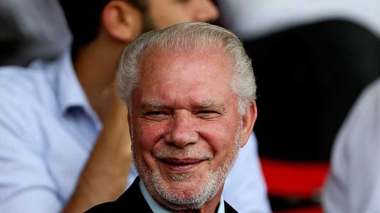 David Gold: West Ham co-owner