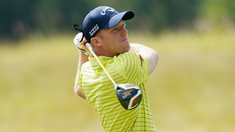 David Horsey: One shot lead at the M2M Russian Open