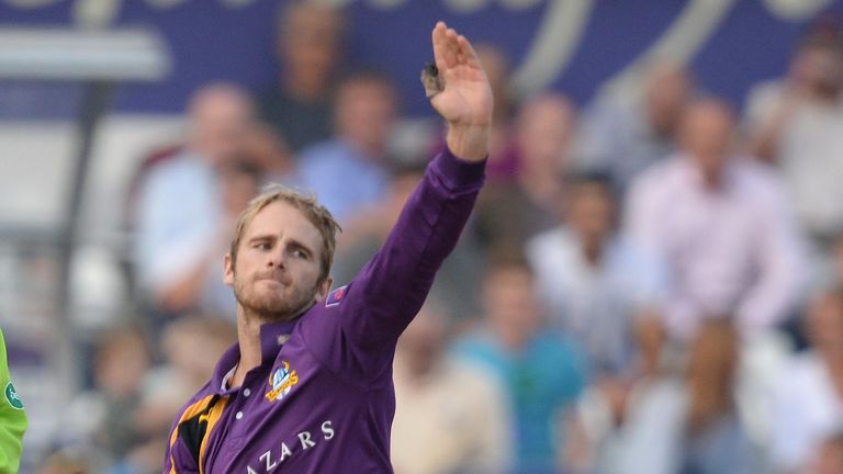 Kane Williamson: New Zealander is playing county cricket for Yorkshire in 2014